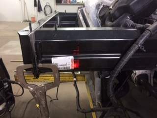 Fixing the frame of a vehicle to factory specs